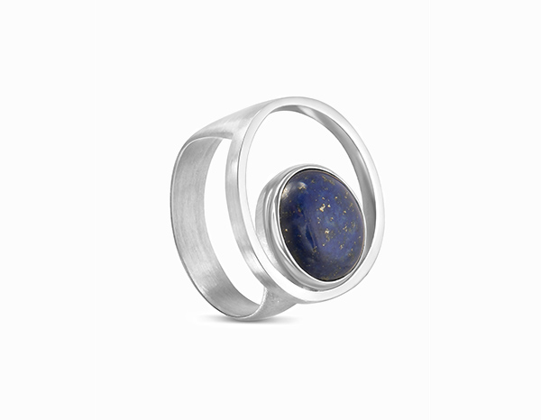 Cabochon de lapis lazuli