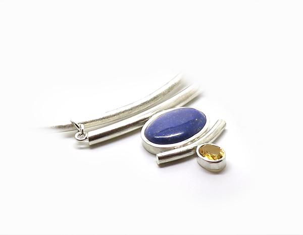 lapis lazuli et citrine