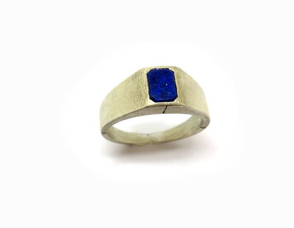 chevaliere-pour-homme-lapis-lazuli