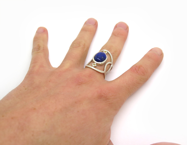 Bague argent made in France
